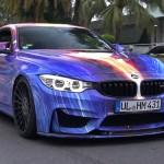 Hamann BMW M4 Art Car – Brutal Accelerations & Tunnel Revs