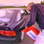 Putting Petrol Into A Diesel Car