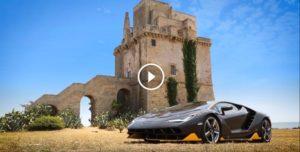 Lamborghini Centenario Dynamic Launch