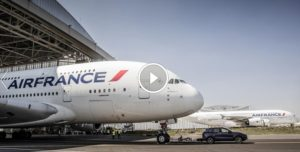 2017 Porsche Cayenne S Towing AIRBUS A380 - Guinness World Records Title