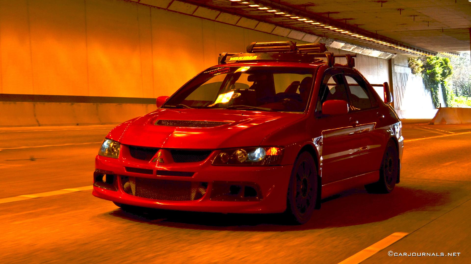 Hd Car Wallpapers Mitsubishi Evo Viii Car Journals