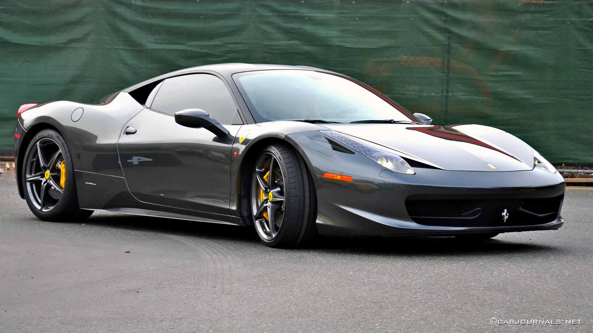 Hd Car Wallpapers Ferrari 458 Italia Car Journals