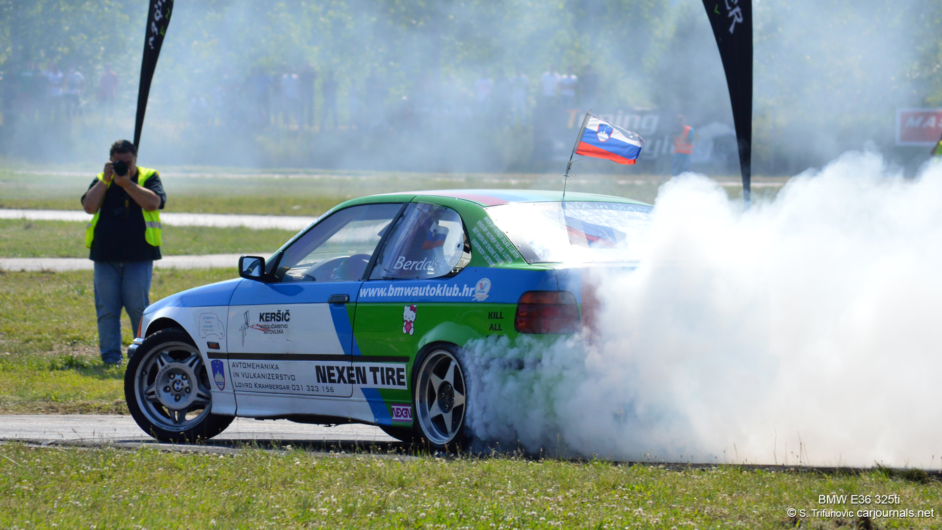 Hd Car Wallpapers Bmw E36 325ti Drift Car Journals