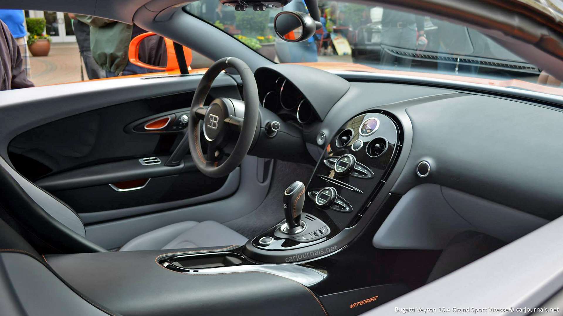 Bugatti Veyron 16 4 Grand Sport Vitesse Interior Hd Wallpaper